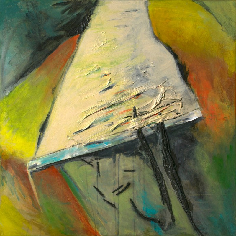 Paint Rag Painting no.1
